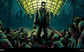 Picture Dead Rising, zombies, XBOXART, Frank Vest, Dan Mumford