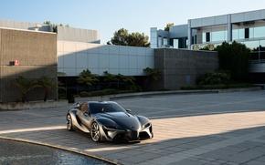 Picture Concept, Toyota, 2014, FT-1, Graphite
