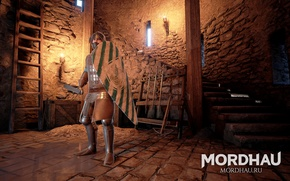 Picture Mordhau, medieval action, multiplayer medieval action, the warrior of the middle ages
