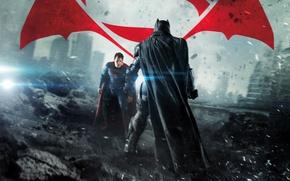 Picture DC Comics, Clark Kent, Bruce Wayne, Movie, Henry Cavill, Ben Affleck, Batman v Superman
