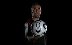 Picture football, sport, legend, ball, Zidane
