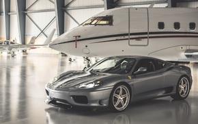 Picture Ferrari, 360, Airplane, Modena