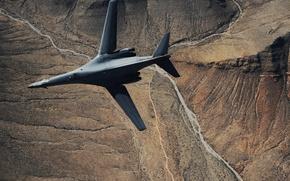 Picture Lancer, bomber, B-1, Rockwell