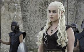 Picture Game of Thrones, Game of thrones, Emilia Clarke, Daenerys Targaryen, Emilia Clarke