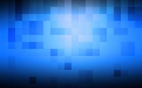 Picture Cuba, cubes, texture, squares, texture, blue background
