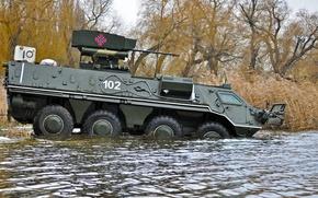 Wallpaper swimming, Ukraine, BTR 4, combat module