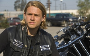 Picture look, the series, actor, Charlie Hunnam, Sons of Anarchy, Charlie Hunnam, Sons of anarchy