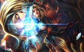 Wallpaper starcraft, Heroes of the Storm, nova, nova terra