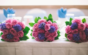 Picture flowers, wedding, bouquets