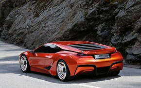 Picture BMW, the concept