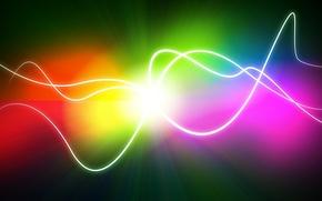 Picture line, color, point