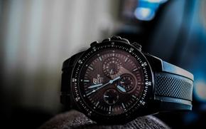Picture Casio, EF-552PB, Edifice, watch, wrist