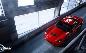 Picture Corvette, Chevrolet, Top, Gear