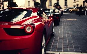 Picture red, black, veyron, Ferrari, red, bugatti, supercar, Ferrari, Bugatti, 458, italia, blue, Italy, Veyron