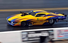 Picture style, race, speed, track, airbrushing, muscle car, motor, drag racing