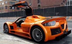 Wallpaper Apollo, Gumpert, orange, drives