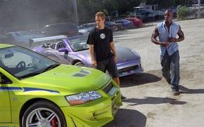 Picture Paul Walker, Paul Walker, Brian O'Conner, Furious, 2 Fast 2 Furious, Roman Pearce, Tyrese Gibson, …