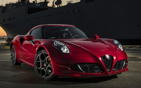Picture red, us-spec, Alfa romeo