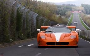 Picture Maserati, supercar, Gran Turismo, MC12, Nurburgring