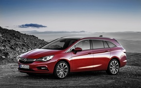 Wallpaper red, Opel, Astra, Opel, universal, Astra, Tourer