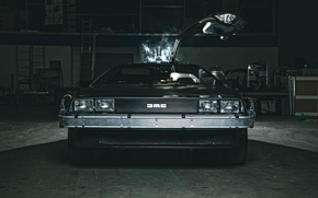 Picture dmc, delorean, 1981, 80's