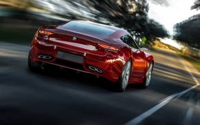 Picture road, movement, speed, BMW, 2013, Radion Concept