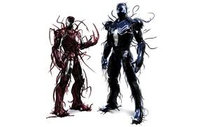 Picture Marvel, Iron Man, Symbiote, Venom