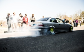 Picture bmw, drift, 3series