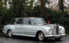 Picture Limousine, Flag, USSR, Rolls Royce, Phatom