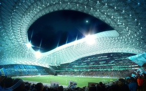 Picture France, stadium, football, Olympique de Marseille, Velodrome