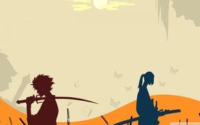 Picture Art, Samurai, Champloo