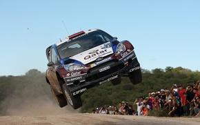Picture ford, rally, jump, wrc, fiesta, 2013, E.Novikov