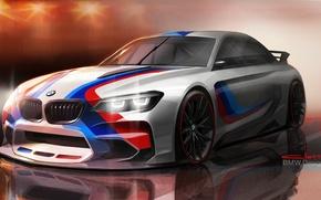 Picture figure, BMW, art, BMW Vision Gran Turismo