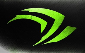 Picture background, color, logo, green, nvidia, brand, NVIDIA