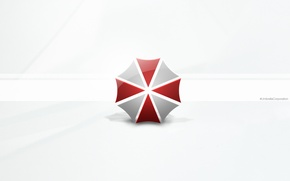 Wallpaper official wallpapers, Resident evil 5: Retribution, umbrella, logo, Resident Evil: Retribution, umbrella corporation