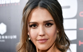 Picture look, girl, face, actress, beauty, jessica alba