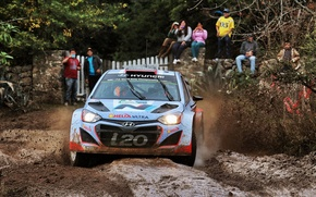 Picture dirt, rally, wrc, hyundai, portugal, i20, 2014