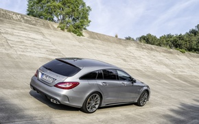 Picture Mercedes, Shooting Brake, CLS63 AMG