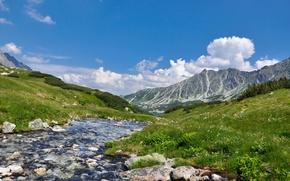 Picture landscape, mountains, nature, river, landscape, nature, scenery, Higland River