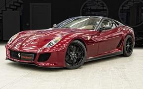 Picture car, sport, ferrari, 599 gto
