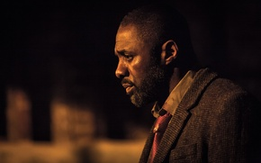 Picture tie, profile, the series, shirt, coat, serial, luther, idris elba, Idris Elba, Luther