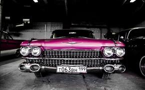 Picture machine, auto, Cadillac, Cadillac