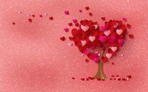 Picture tree, heart, hearts, love, heart, tree, romantic