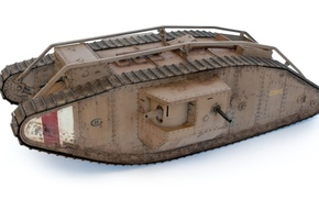 Picture toy, model, tank, MK IV, heavy