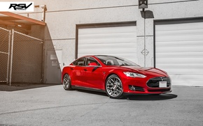 Picture Tesla, forged, Model S, rsv