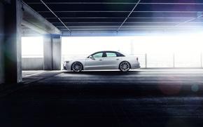 Picture machine, auto, Audi, lights, drives, auto, side, ADV.1