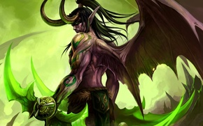 Wallpaper World of Warcraft, Illidan, WOW, Stormrage