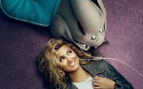 Picture cinema, girl, movie, blonde, asian, film, elephant, animated film, Universal Pictures, animated movie, Illumination Entertainment, …