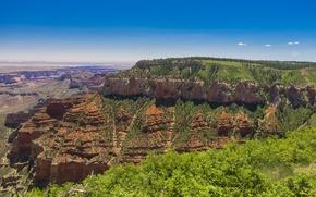 Picture nature, Park, horizon, USA, Arizona, Grand Canyon