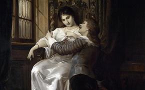 Picture picture, Austria, date, lady, lady, Austria, picture, Vienna, Vienna, gentleman, 19-th century, 19th century, Carl …